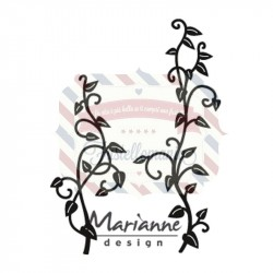 Fustella metallica Marianne Design Craftables Vines