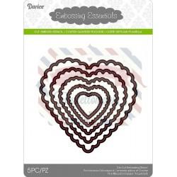 Fustella Darice Scallop Heart