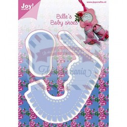 Fustella metallica Joy! Crafts Bille's Baby Shoes Girl