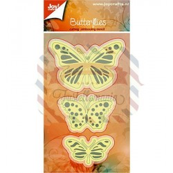 Fustella metallica Joy! Crafts Butterflies
