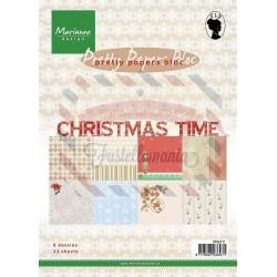 Carta da scrapbooking Marianne Design pretty papers bloc Christmas Time
