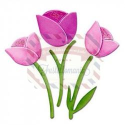 Fustella Sizzix Originals Flower Tulip 2