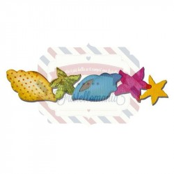 Fustella Sizzix Originals Seashells