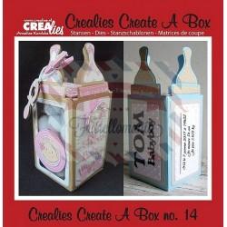 Fustella metallica Crealies Create a box 14