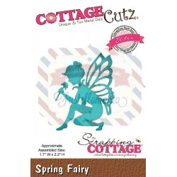 Fustella metallica Cottage Cutz Spring Fairy