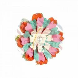 Fustella Sizzix Bigz Flower Heart & Soul