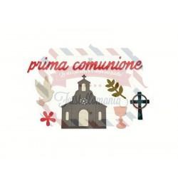 Fustella Sizzix Thinlits Prima Comunione