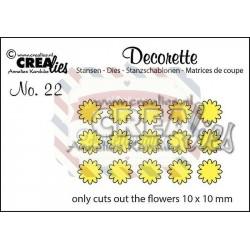 Fustella metallica Crealies Decorette nr 22