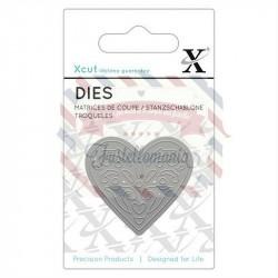 Fustella metallica Xcut Heart 2