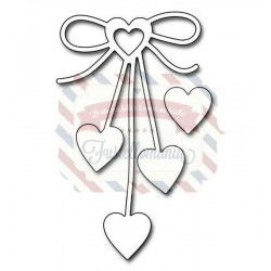 Fustella metallica Penny Black Heart Bow