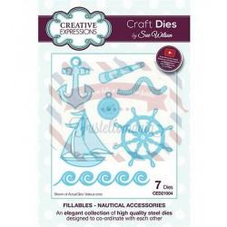 Fustella metallica Creative Expressions Nautical Accessories