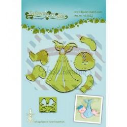 Fustella metallica Leane Creatief Baby