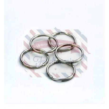 Anelli per chiavi 25 mm - 100 pezzi