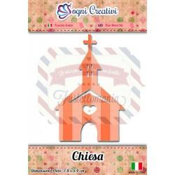 Fustella metallica sottile Chiesa