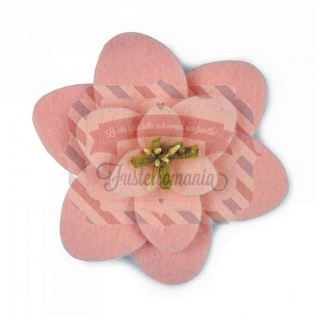 Fustella Sizzix Bigz Sweet Lotus