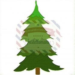 Fustella Sizzix Originals Albero di Natale 2