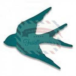 Fustella Sizzix Thinlits Tiny Swallow