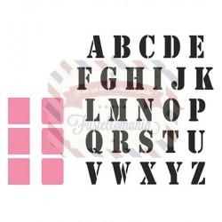 Fustella metallica Marianne Design Collectables Stempel alfabet