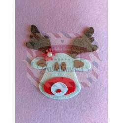 Fustella L Renna Rudolph Natale