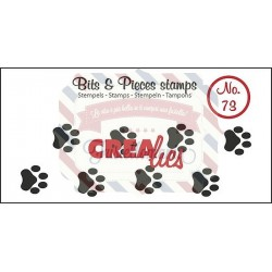 Fustella timbro Crealies Bits & Pieces Paws Cat Dog