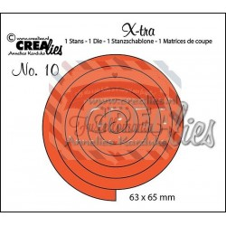 Fustella metallica Crealies X-tra 10 Spirale