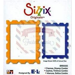 Fustella Sizzix Originals Frames Stamp Combo