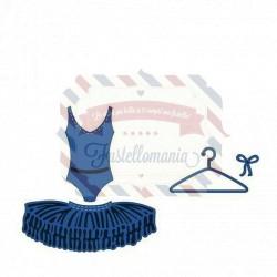 Fustella metallica Marianne Design Creatables Ballet Dress