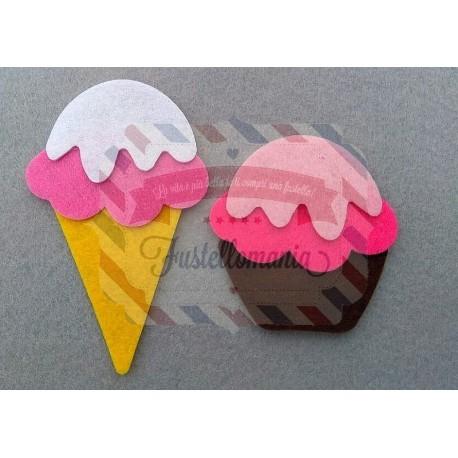 Fustella M Gelato & Cupcake