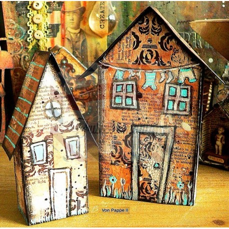 Fustella Sizzix BIGz L Tiny Houses