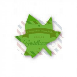 Fustella Sizzix Originals Green Leaf 3 Tiny