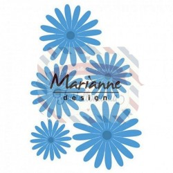Fustella metallica Marianne Design Creatables Anja's Flower set