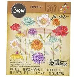 Fustella Sizzix Framelits Flower Garden & Mini Bouquet