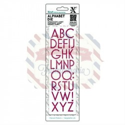 Fustella metallica Xcut Art Deco Alphabet