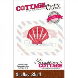 Fustella metallica Cottage Cutz Scallop Shell
