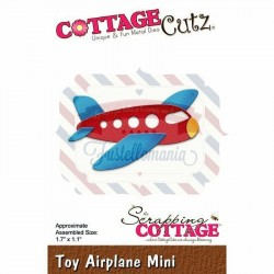 Fustella metallica Cottage Cutz Toy Airplane Mini