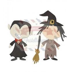 Fustella Sizzix Thinlits Spooky
