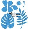 Fustella metallica Marianne Design Creatables Hibiscus & Tropical Leaves