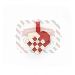 Fustella Sizzix Thinlits Woven Heart