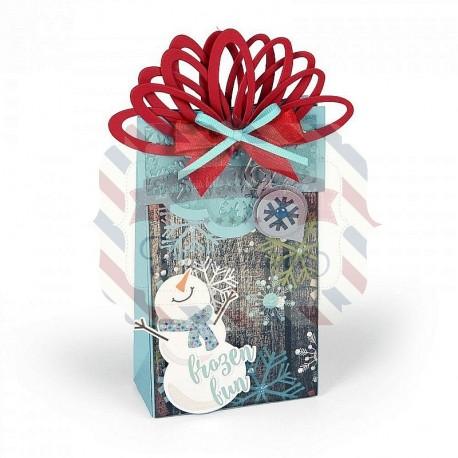 Fustella Sizzix BIGz XL Box Wrapped with ornaments