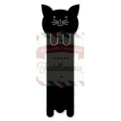 Fustella metallica Cat Bookmark