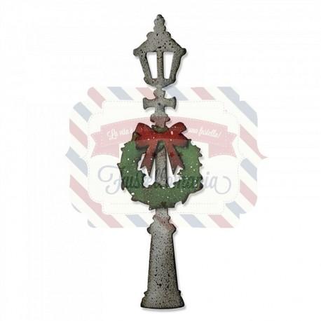 Fustella Sizzix Bigz Lamp Post by Tim Holtz