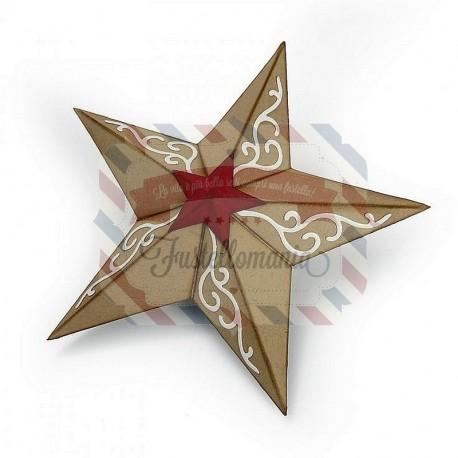 Fustella Sizzix Bigz Christmas Star 3-D
