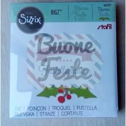 Fustella Sizzix Bigz Buone Feste