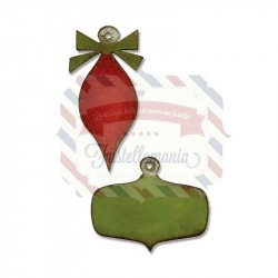 Fustella Sizzix Movers & Shapers Mini Retro Ornaments