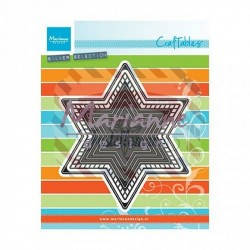 Fustella metallica Marianne Design Craftables Basic Christmas Star