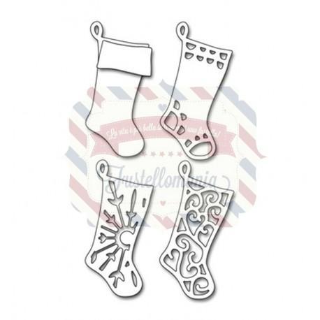 Fustella metallica Penny Black Layered Stockings
