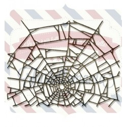 Fustella Sizzix Thinlits Cobweb by Tim Holtz