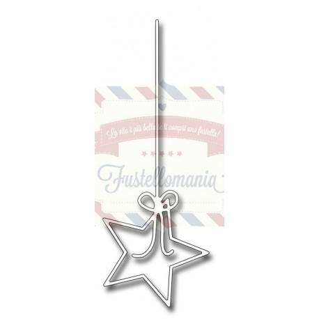Fustella metallica Star on a string