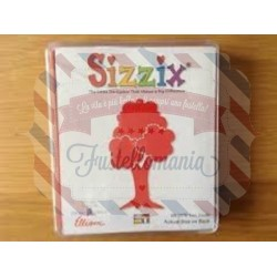 Fustella Sizzix Originals Albero Tree