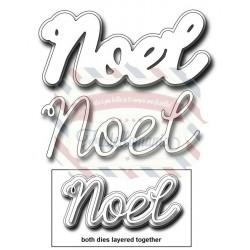 Fustella metallica Layering Noel